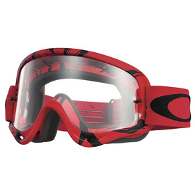 Oakley O Frame MX intimidator red-black/clear
